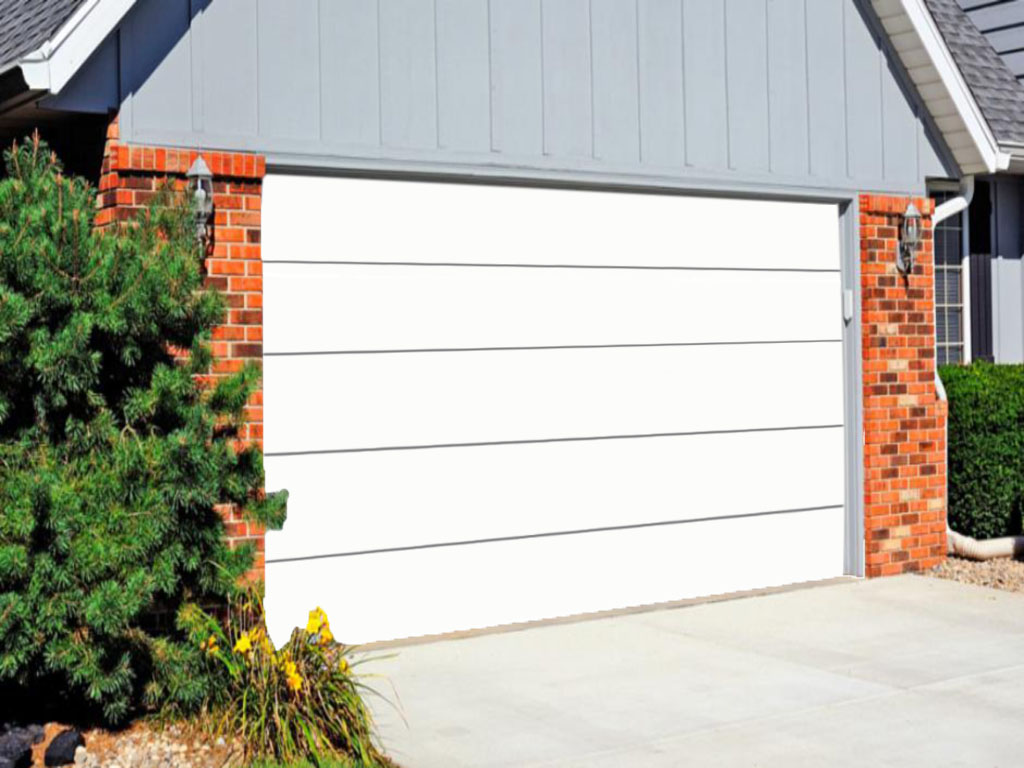 ITALPANNELLI RESIDENTIAL GARAGE OVERHEAD DOOR SMOOTH SURFACE PANEL.