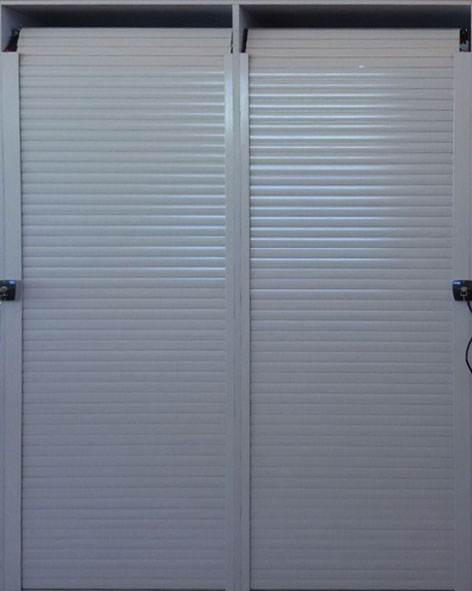 AGB 400 SERIES ALUMINIUM DOUBLE SKIN NON-INSULATED ROLLING SHUTTER