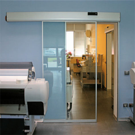 DI-TEC AUTOMATIC SLIDING GLASS DOOR